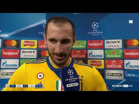 Emotional Giorgio Chiellini dedicates Juventus victory to Davide Astori
