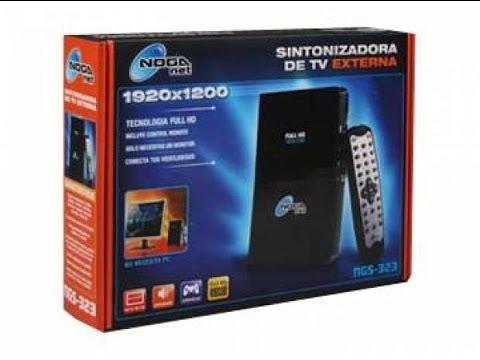Sintonizadora De Tv Externa Noganet Ngs-323 (Review)