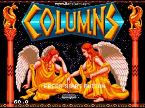 Columns (Sega Mega Drive / Sega Genesis) – Ravenking's Gameplay