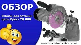 "Точилка цепи ТМ ""Брест"" ТЦ 800 3 Диска+Подсветка от компании electro-instrument - видео"