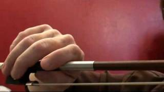 Advanced Violin Bow Hold