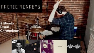 Arctic Monkeys - 5 Minute Drum Chronology - by Jamie Warren