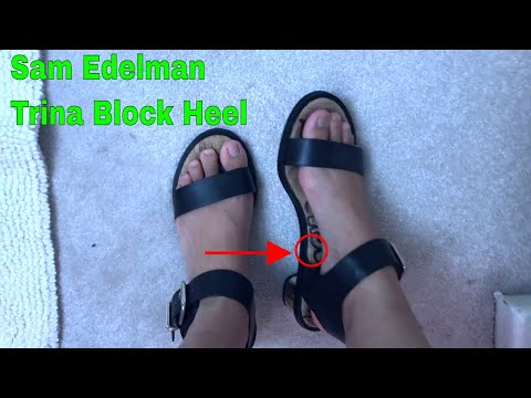 ✅  Sam Edelman Trina Block Heel Sandal Review