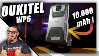 Oukitel WP6 - Ein Smartphone als Powerbank! - Test