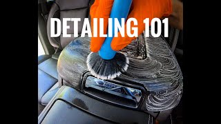 INTERIOR DETAILING 101 - Everything I Know, Step By Step (ASMR)