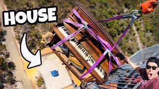 PIANO Vs. HOUSE from 45m!