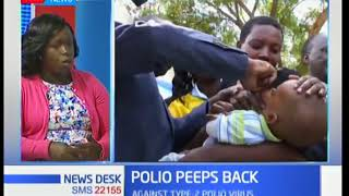 Dr Supa Tunje talks about the polio campaign being rolled out by health ministry