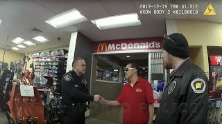 Police Investigation Of Incident At Gas Station, Part II (Security Guard Interview)