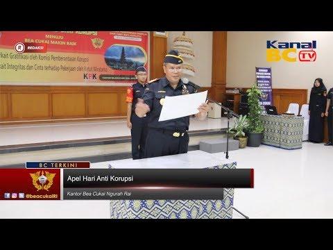 [Redaksi] Apel Hari Anti Korupsi Kanwil Bali, NTB, & NTT