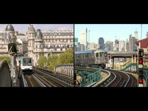 פריז מול ניו יורק - מצאו את ההבדלים