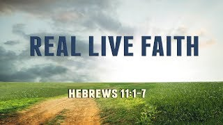 Real Live Faith