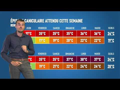 Illustration de l'actualité La météo de votre mardi 4 août 2020