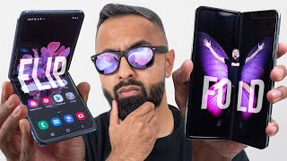 Samsung Galaxy Z Flip vs Galaxy Fold