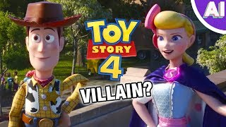 Is Bo Peep the VILLAIN of Toy Story 4? (Animation Investigation)