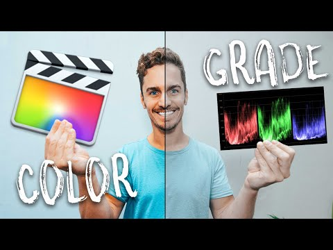 Color Grading in Final Cut Pro (Beginner to Advanced)