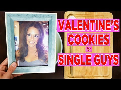 Valentine's Day Cookies FOR SINGLE GUYS! (Recipe Video Parody)
