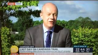 Piers Morgan Rips Into Damian Green Mp About Counter-terrorism On Gmtv 07 06 2017