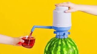 Wie man einen Wassermelonen-Saftspender macht