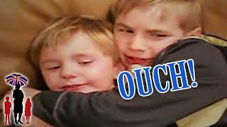 Supernanny | Boy Kicks Brother In Private Parts