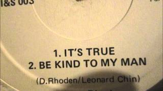 "Donna Rhoden  - Its True. 1983  (12"" Reggae/Lovers Rock)"