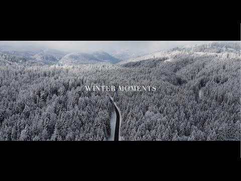 Winter Moments |4k Cinematic Drone Footage|