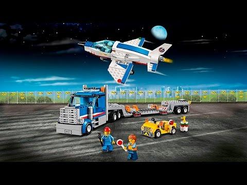 Lego City 60079 Training Jet Transporter - Lego Speed Build