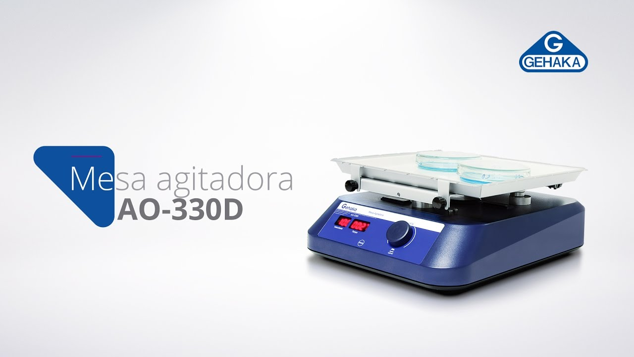 Video de demonstração do AO-330D