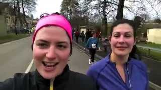 preview picture of video 'Running the Bath Half Marathon 2015'