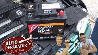 Batterie richtig wechseln ! | Autobatterie Wechsel | DIY Tutorial