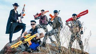 LTT Nerf War : Couple SEAL X Warriors Nerf Guns Fight Criminal Group Dr Mundo Weapon Bandits