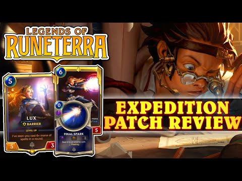 Legends Of Runeterra New Patch Buffs Nerfs And New Mode Expedition Aka Draft Initial Thoughts