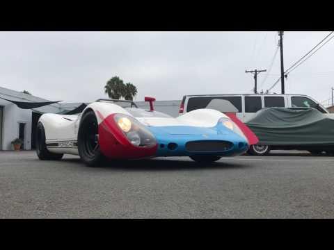 Prime delivery of 1968 Porsche 908
