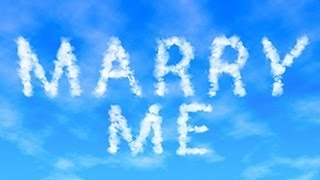 Photoshop Tutorial: CLOUD TEXT, Skywriting. How To Write In The Sky.