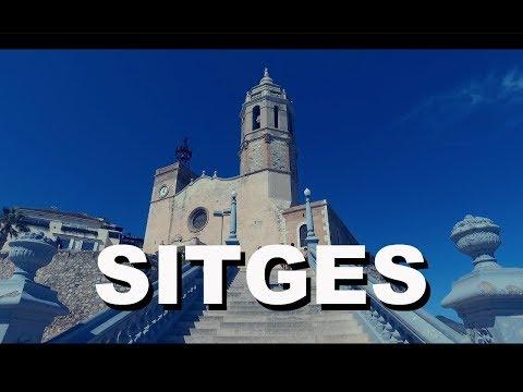 SITGES BARCELONA Un paseo por el pueblo -  ¡Qué Gran Viaje! - un Vlog de Lee de Caires