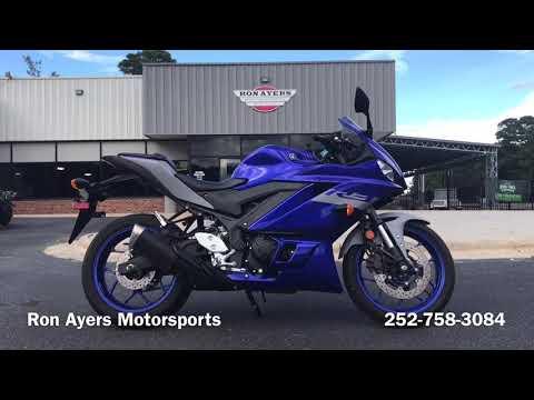 2020 Yamaha YZF-R3 ABS in Greenville, North Carolina - Video 1