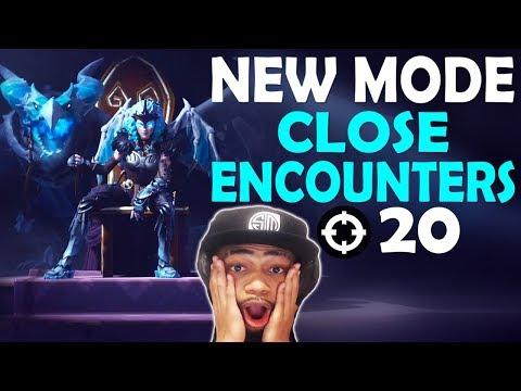 CLOSE ENCOUNTERS 20 KILLS VS SQUADS   NEW MODE FUNNY GAME   VALKYRIE SKIN - (Fortnite Battle Royale)