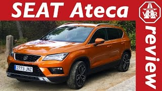 2016 SEAT Ateca 2 0 TDI 190 PS 4DRIVE   English   Test   Test Drive and In Depth Review English by Video Car Review