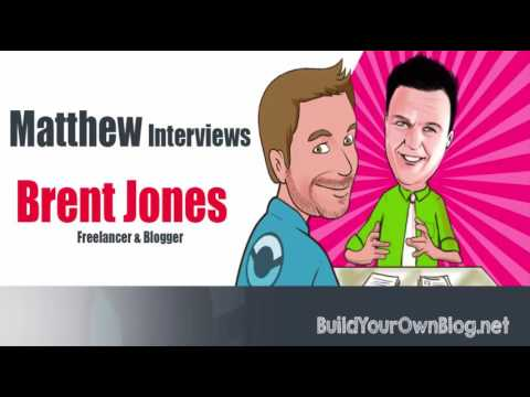 How to Find Freelance Success With a Blog: Brent Jones Interview