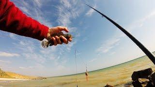 Смотреть онлайн Рыбалка на Азовском море осенью