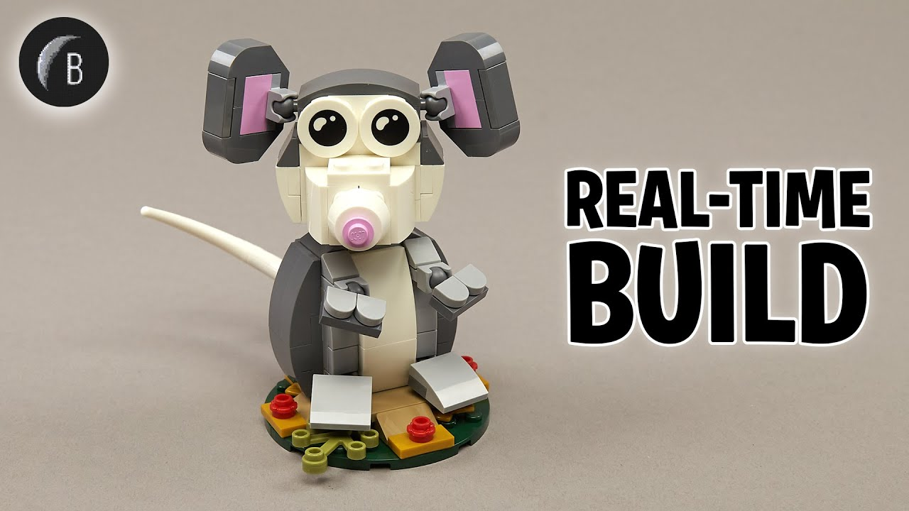 LEGO 40355 - Year of the Rat - Seasonal - Build Review