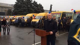 Валерий Радаев. Вручение ключей от автомобилей