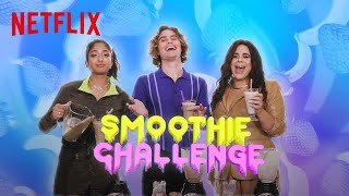 Outer Banks vs Never Have I Ever vs On My Block | Smoothie Challenge | Netflix