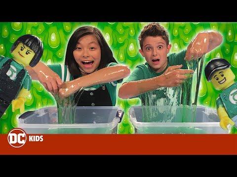 DC Toy Slime Challenge   DC KIDS SHOW