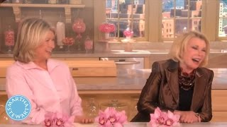 Valentine's Day Crafts with Joan Rivers - Martha Stewart