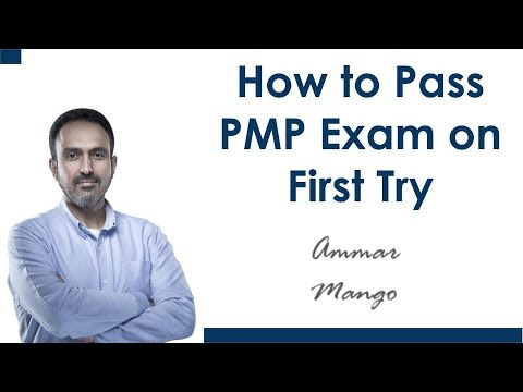 How to Pass PMP Exam on First Try - YouTube
