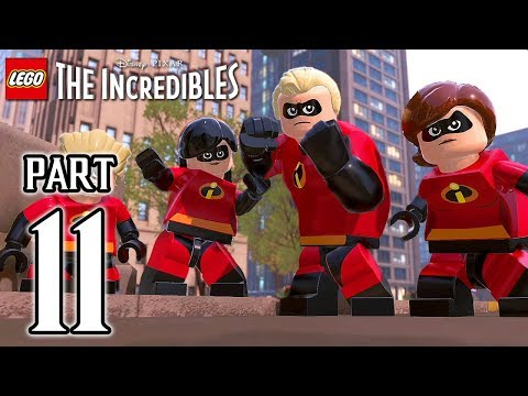 LEGO The Incredibles Walkthrough PART 11 (PS4 Pro) No Commentary @ 1080p HD ✔