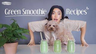 Green Smoothie Recipes: Chế Biến Sinh Tố Rau Xanh đầy đủ Dưỡng Chất, DETOX Cực Hiệu Quả