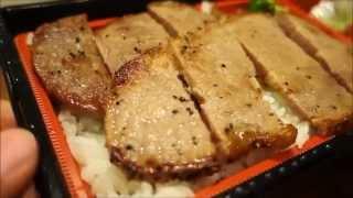 Hotto Motto : Double steak bento