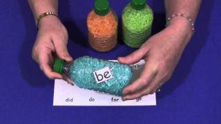 Sight Word Discovery Bottles