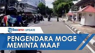 Pengendara Moge yang Ditendang Paspampres Kini Minta Maaf, Polisi Buru para Pelaku